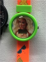 1992 Barbie and Hard Rock Cafe watches