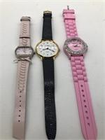 3 women's watches, Gitano, Anne Klein and Geneva