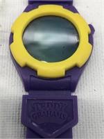 Teddy grahams digital rubber watch with original