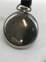 2 Westclox Bulls Eye Pocket Watch both have