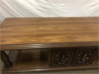 "Vintage retro coffee table 85"" Long"