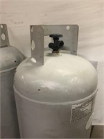 2 Large Propane tanks seems like they are full