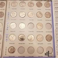State Series Quarter Book P&D Mints