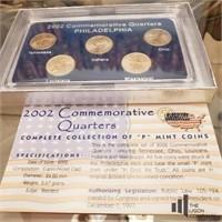 2001-2002 Philadelphia Mint Quarters