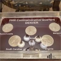 1999-2000 Denver Mint Quarters