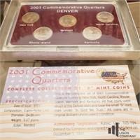 2001-2002 Denver Mint Quarters