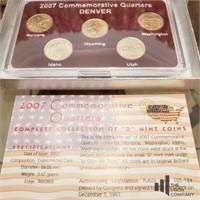 2007-2008 Denver Mint Quarters