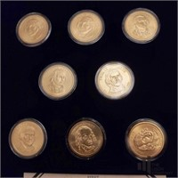 Presidential Dollar Type Set Collection