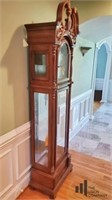 Briton Cherry Grandfather Clock