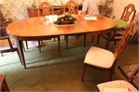 Bernhardt Dining Table & 6 Chairs