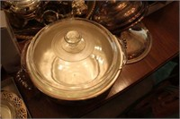 Large Lot of Silver Plate