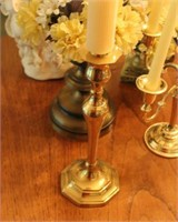 Lot of Candle Holders & Misc