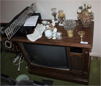 Old TV, Indoor Antenna, VCR/DVD, & Misc.
