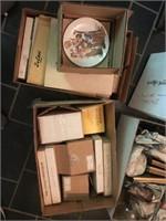 Lamp, Jim Beam Phone, Prints, And More