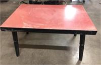 Wood table 30x21