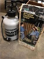 Craftsman sprayer one and a half gallon