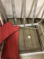 Vintage aluminum glider