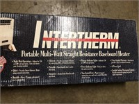 New in the box INTERTHERM Portable multi watt