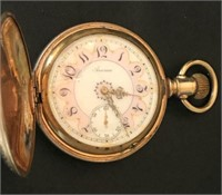 America Hunting Case Antique Pocket Watch