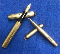 2 Vintage Fountain Pens