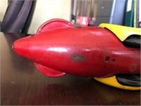 Vintage Marx Flash Gordan Rocket Fighter
