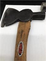 Dunlap Utility Hatcher and Craftsman Hammer