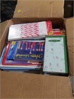 Larger box of Christmas cards