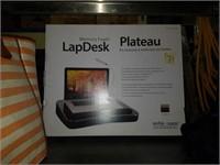 Memory foam lap desk