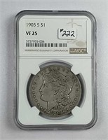 July  Consignment Coin & Token Auction