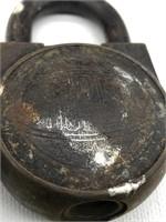 2 Vintage locks, master lock number 55 and