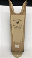 Music Valley Western Store boot jack