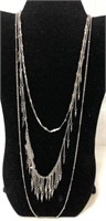 Two vintage Costume jewelry necklaces