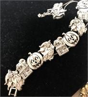 3 vintage holiday bracelets