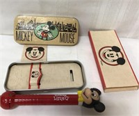 Mickey Mouse items-tin is empty