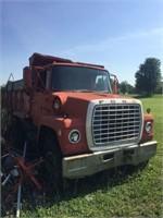 Ford 9000 Dump Truck, Tandem Axle