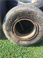 Lot Of Four Tractor Tires