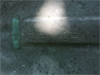 750-Gallon Poly Water Tank
