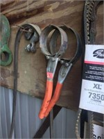 Lot of Assorted Tools On Wall