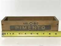 Mel-O-Bit pimento cheese wooden box