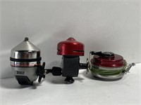 Lot of fishing reels and line