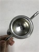 KMD Holland pewter tea service set