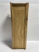 Handmade wooden drawer pull bat house