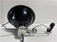 Industrial metal clamp heat lamp