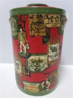 Drulane vintage red and green ice bucket