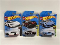 Hot Wheels Lamborghini collector trio