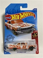 Hot Wheels orange truck collector trio