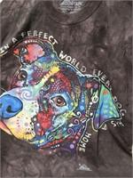 The Mountain size Medium dog design t-shirt