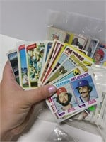 Old baseball card collection