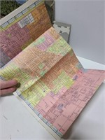 Vintage map/ travel ephemera
