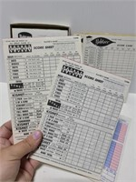 Yahtzee, Triple Yahtzee, and Kismet score pads